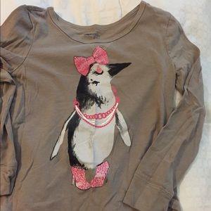 Gap Girls Penguin shirt